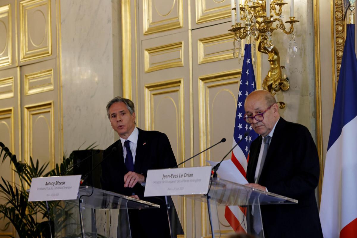 Госсекретарь США и министр иностранных дел Франции обсудили Карабах