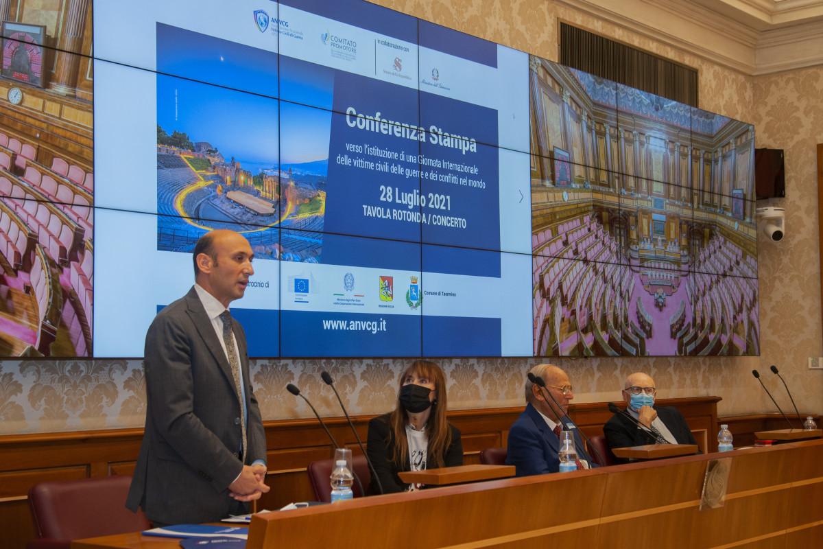 Ambassador spoke about crimes committed by Armenia against Azerbaijani civilians, in Italian Senate