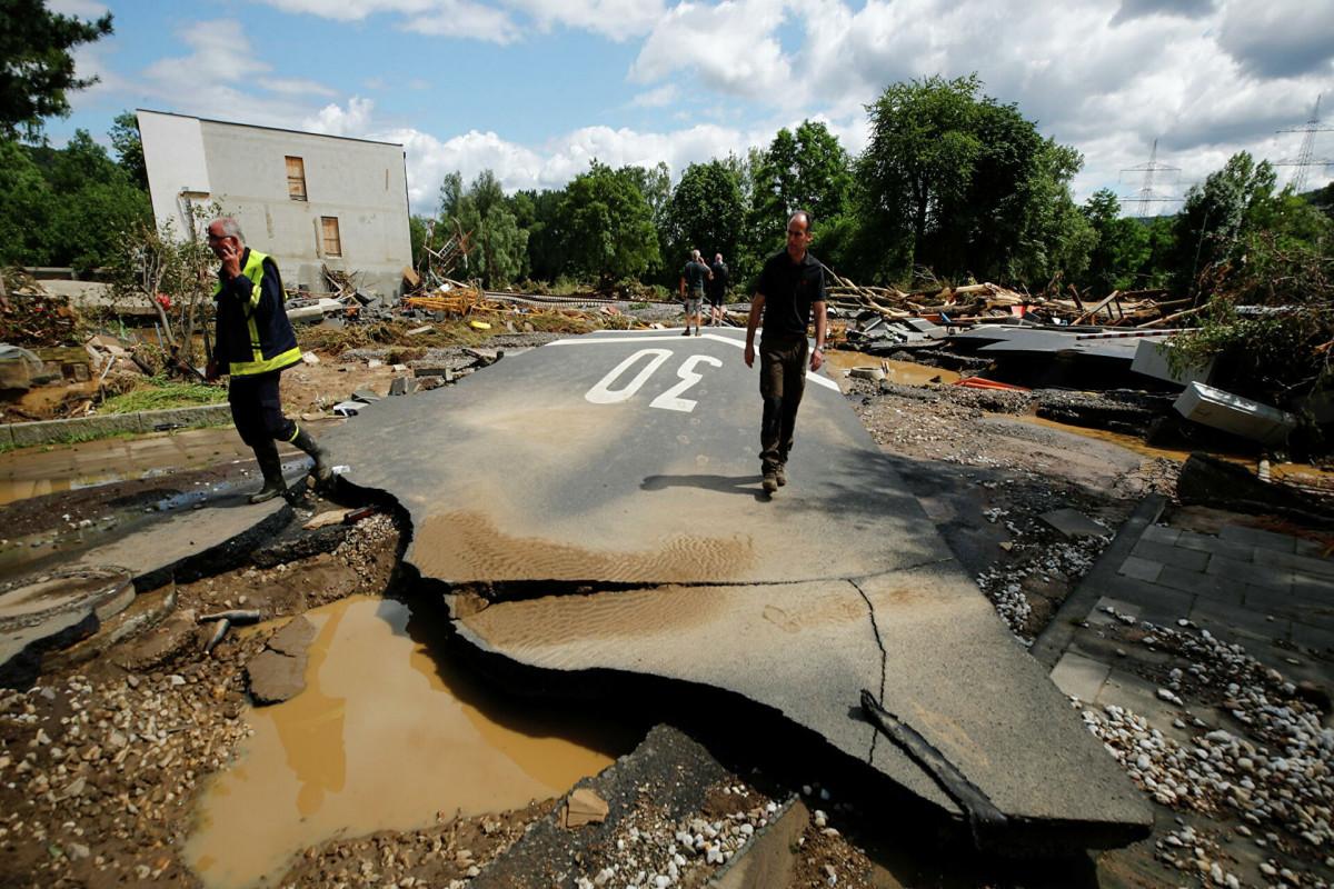 Число погибших от наводнений в Бельгии выросло до 11 человек