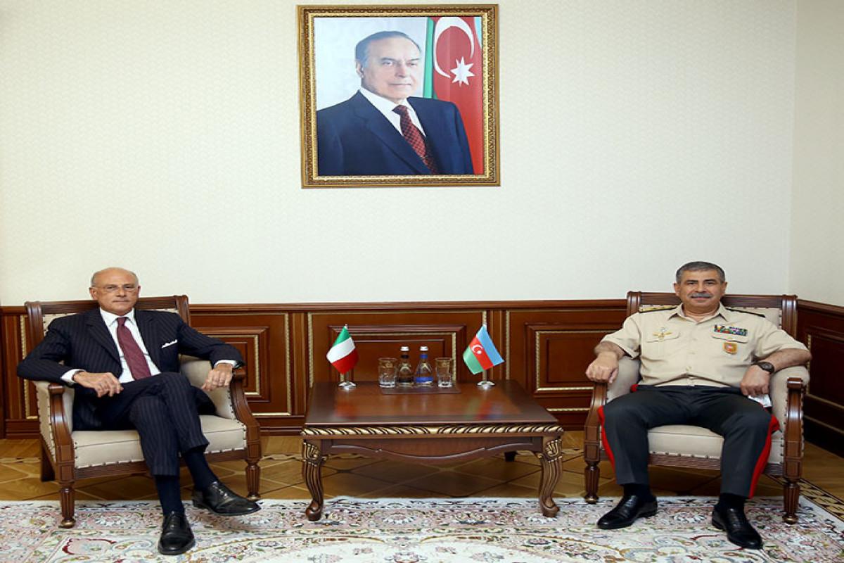 Azerbaijan's Defense Minister: Armenia bears responsibility for raising of tension on border