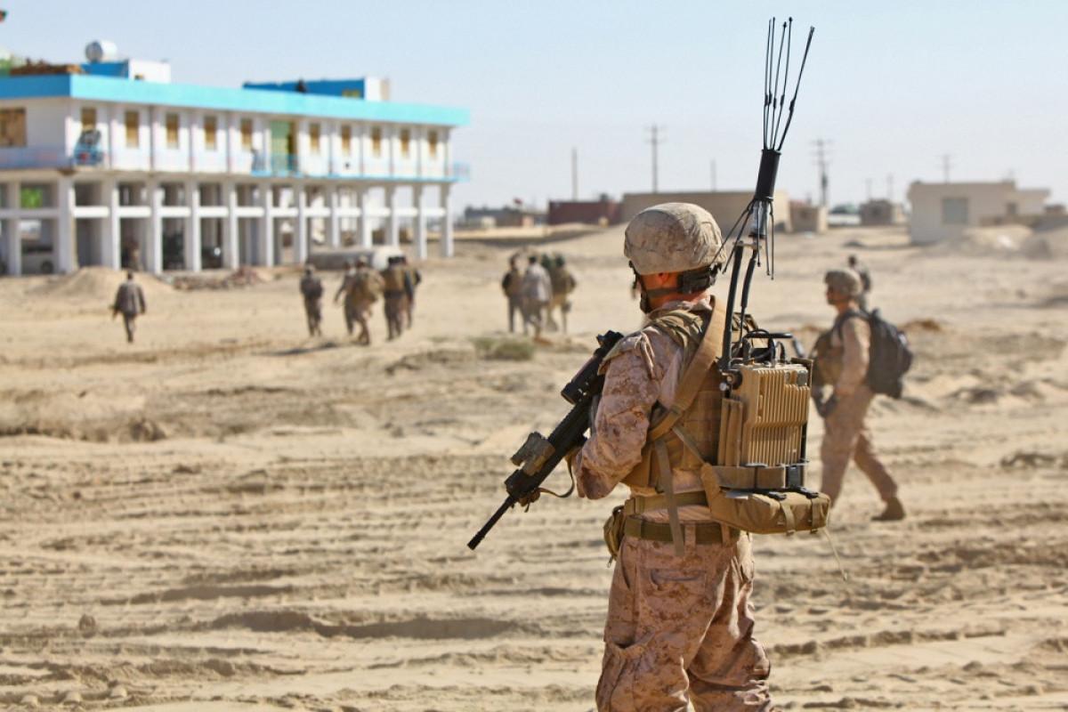 """Əfqanıstan hərbçiləri 3 mahalı """"Taliban"""" silahlılarından təmizləyib"""