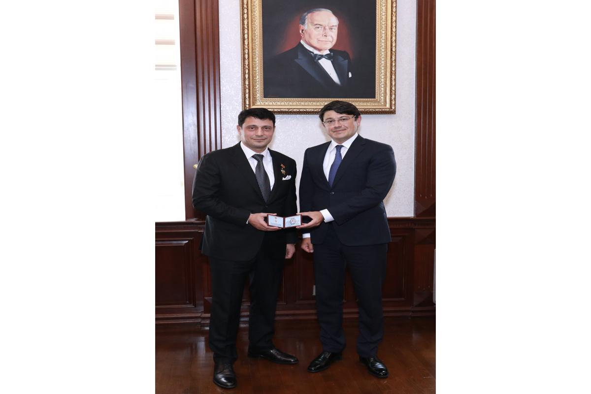 Beynəlxalq Dağ Yəhudiləri Fondunun prezidenti Fuad Muradovla görüşüb