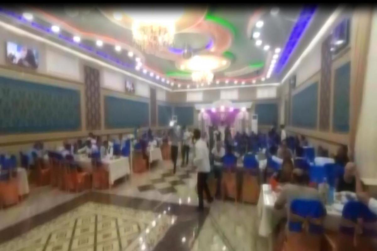 Mingəçevirdə karantin qaydalarını pozan şadlıq sarayının sahibi barəsində cinayət işi başlanılıb