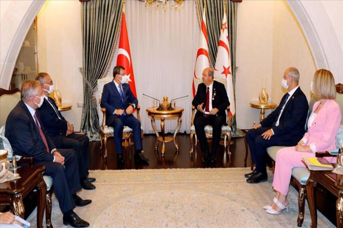 Делегация Милли Меджлиса впервые совершила официальный визит на Северный Кипр