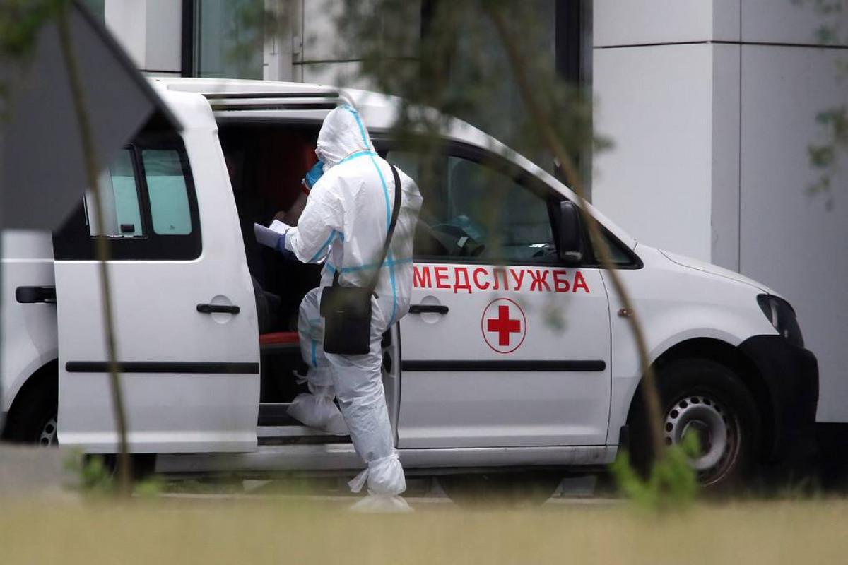 Rusiyada son sutkada COVID-19-dan 787 nəfər ölüb