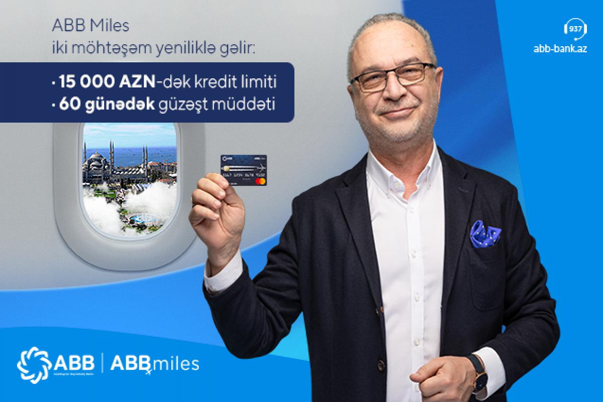 """""""ABB Miles"""" möhtəşəm yeniliklə gəlir"""