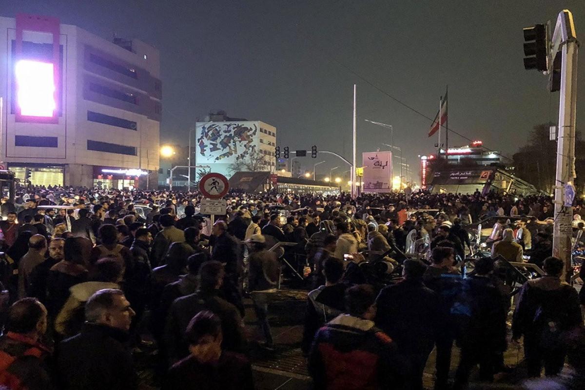 Один человек погиб во время акции протеста в Иране
