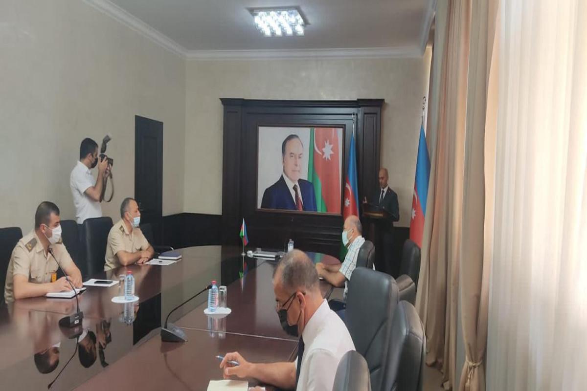 FHN Dövlət Yanğın Nəzarəti Xidməti seminar-müşavirə keçirib