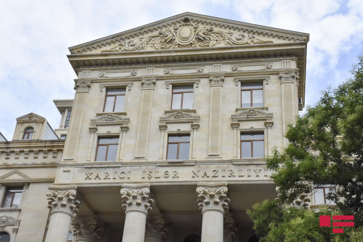 Azerbaijani MFA responds to Pashinyan