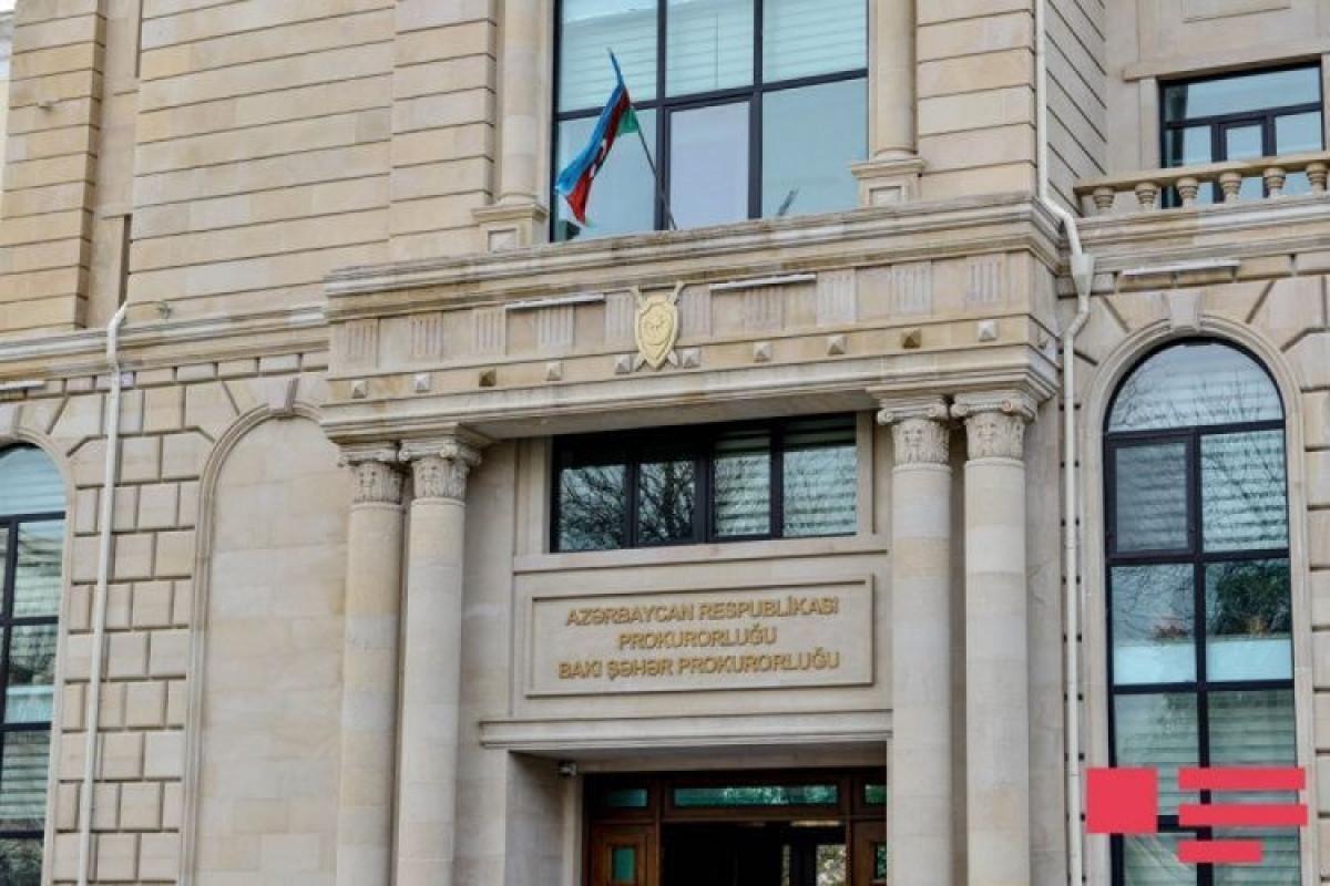 Bakı şəhər Prokurorluğu: Bu il cinayət işləri üzrə 9 milyon manatlıq maddi ziyan ödənilib
