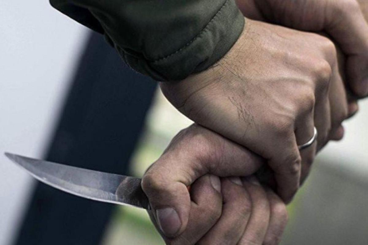 Установлена личность человека, ударившего ножом жителя Гёйгёльского района - ОБНОВЛЕНО