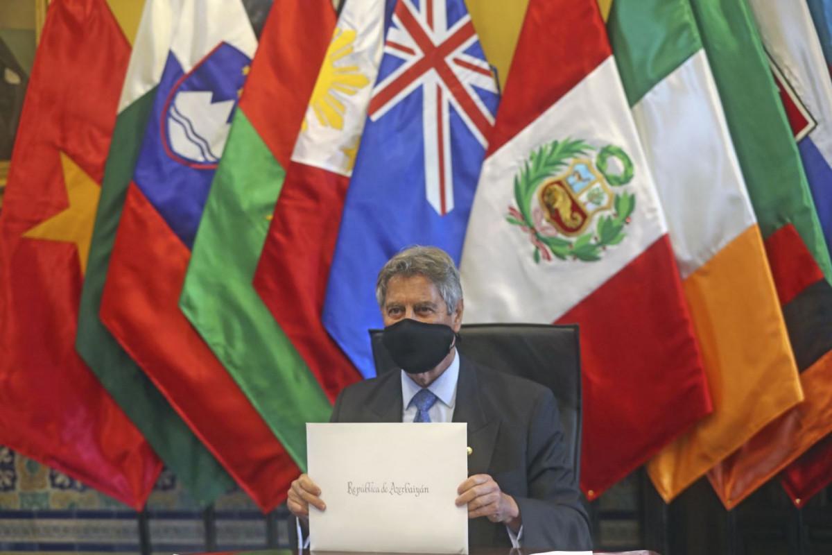 Peru prezidenti Azərbaycan səfirinin etimadnaməsini qəbul edib