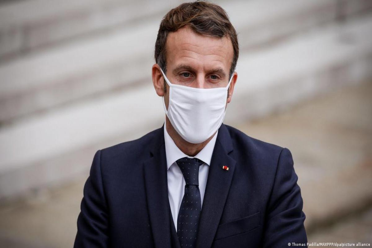Fransa Prezidenti Makronun gənclər arasında populyarlığı azalıb