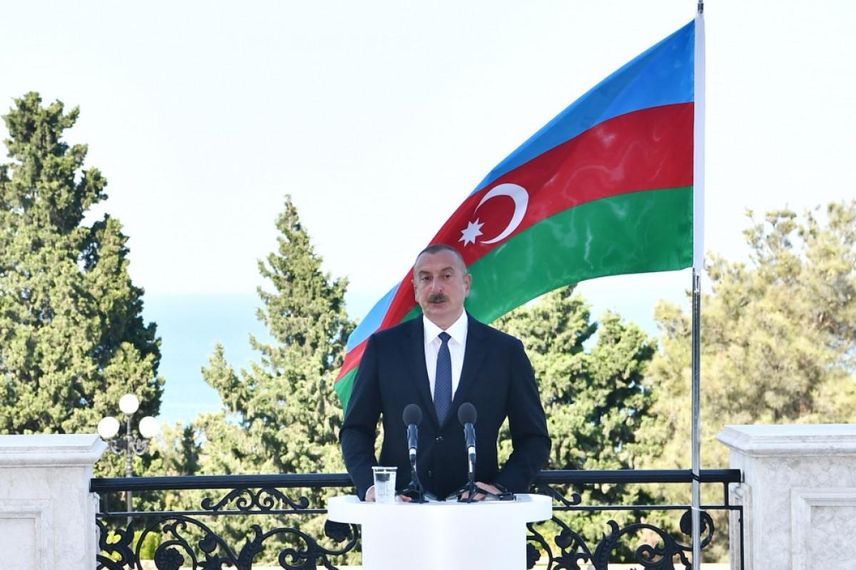 """Azərbaycan Prezidenti: """"Regionda bütün kommunikasiyalar eyni vaxtda açılmalıdır"""""""