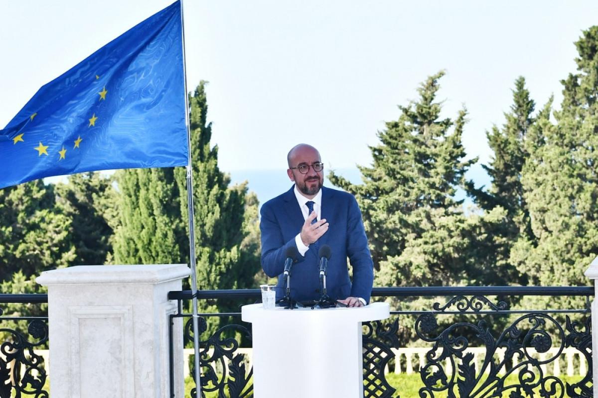 ШарльМишель: Мы хотим придать стратегический характер партнерству между Европейским Союзом и Азербайджаном