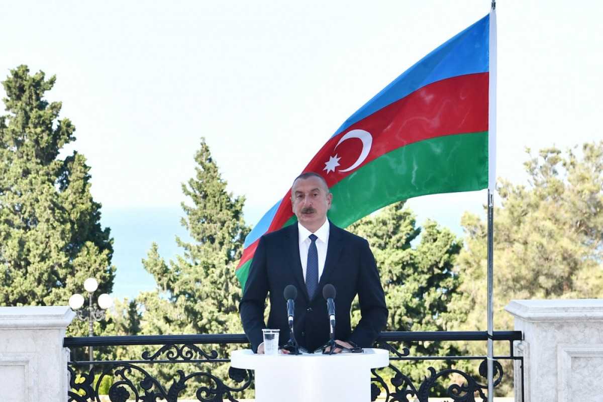 Ilham Aliyev: All communications in the region must be opened in parallel.