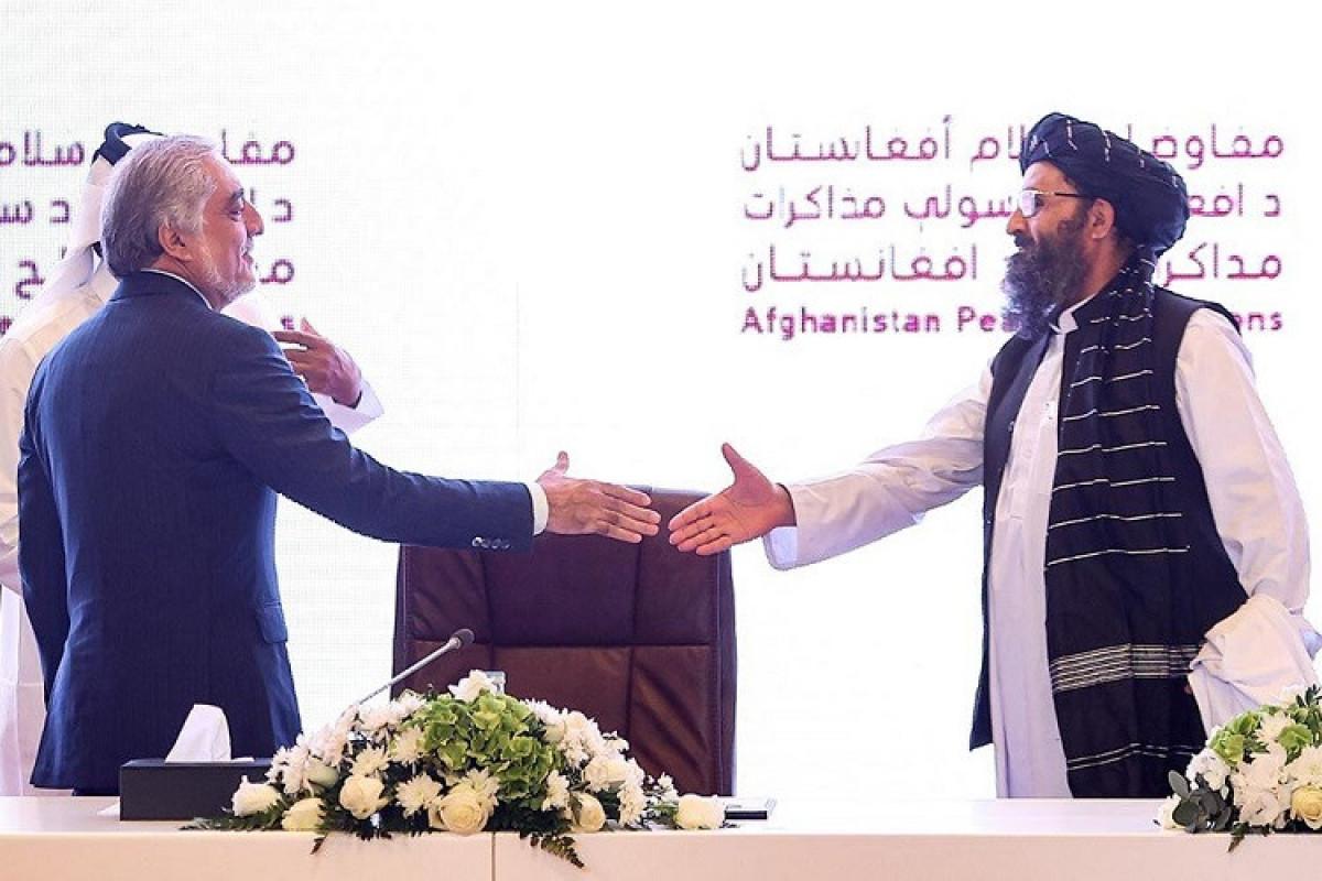 """Əfqanıstan hökuməti və """"Taliban"""" sülh danışıqlarını davam etdirmək barədə razılığa gəlib"""