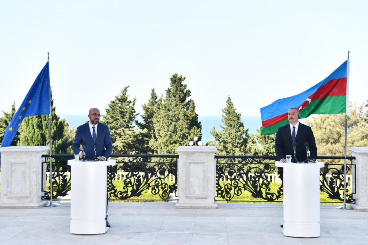 Глава Евросовета заявил о готовности ЕС сыграть конструктивную роль в достижении мира между Азербайджаном и Арменией