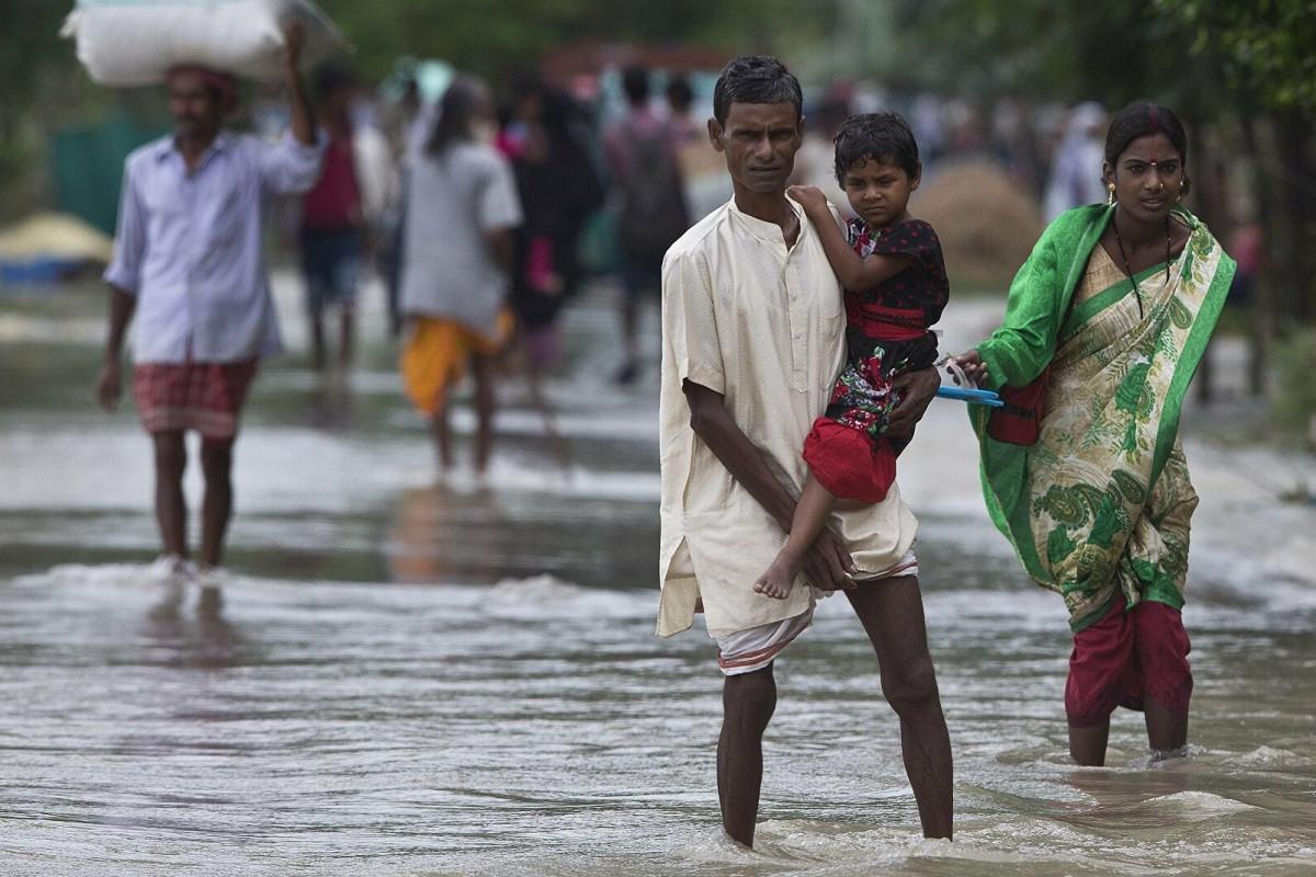 Hindistanda leysan yağışları 33 nəfərin ölümünə səbəb olub