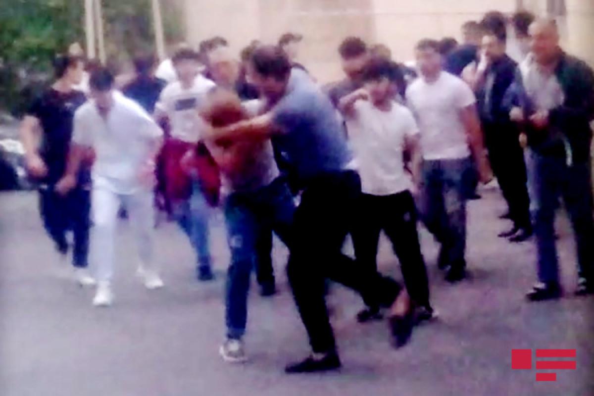Задержан человек, ранивший ножом двух братьев в Исмаиллы -ВИДЕО -ОБНОВЛЕНО