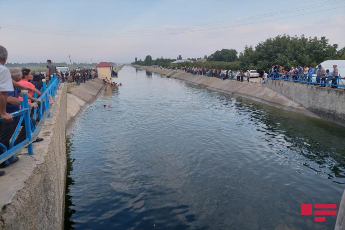 Обнаружено тело мужчины, утонувшего в канале в Шямкире -ОБНОВЛЕНО-1 -ФОТО