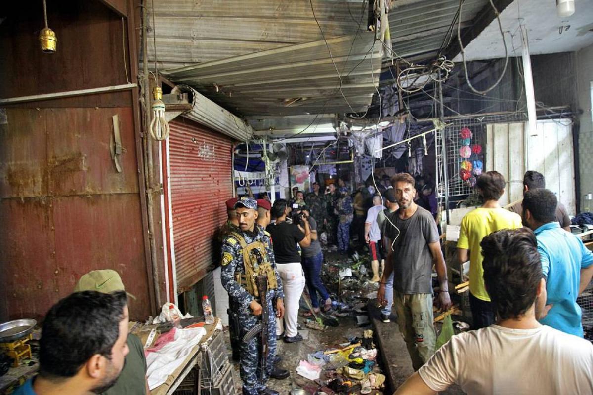 Число жертв взрыва на рынке в Ираке возросло до 25-ОБНОВЛЕНО