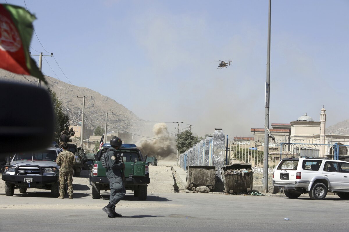 KİV: Əfqanıstanda prezident sarayı istiqamətində bir neçə raket zərbəsi endirilib