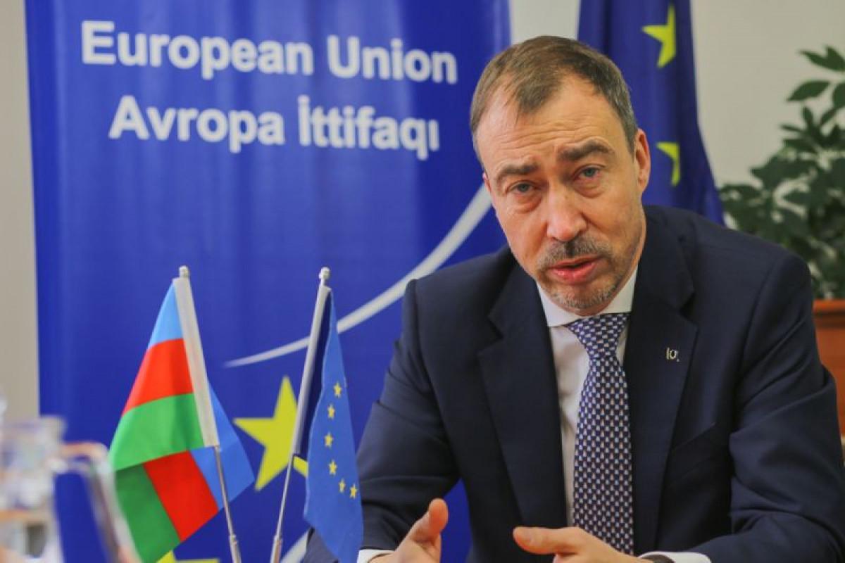 EU expresses concern on developments on Azerbaijan-Armenia stateborder
