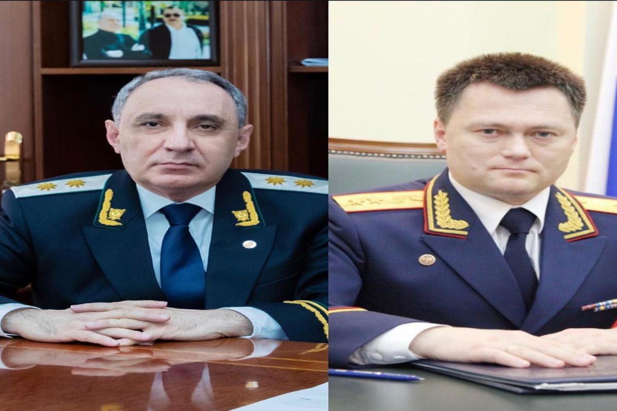 Состоялся телефонный разговор между генеральными прокурорами Азербайджана и России