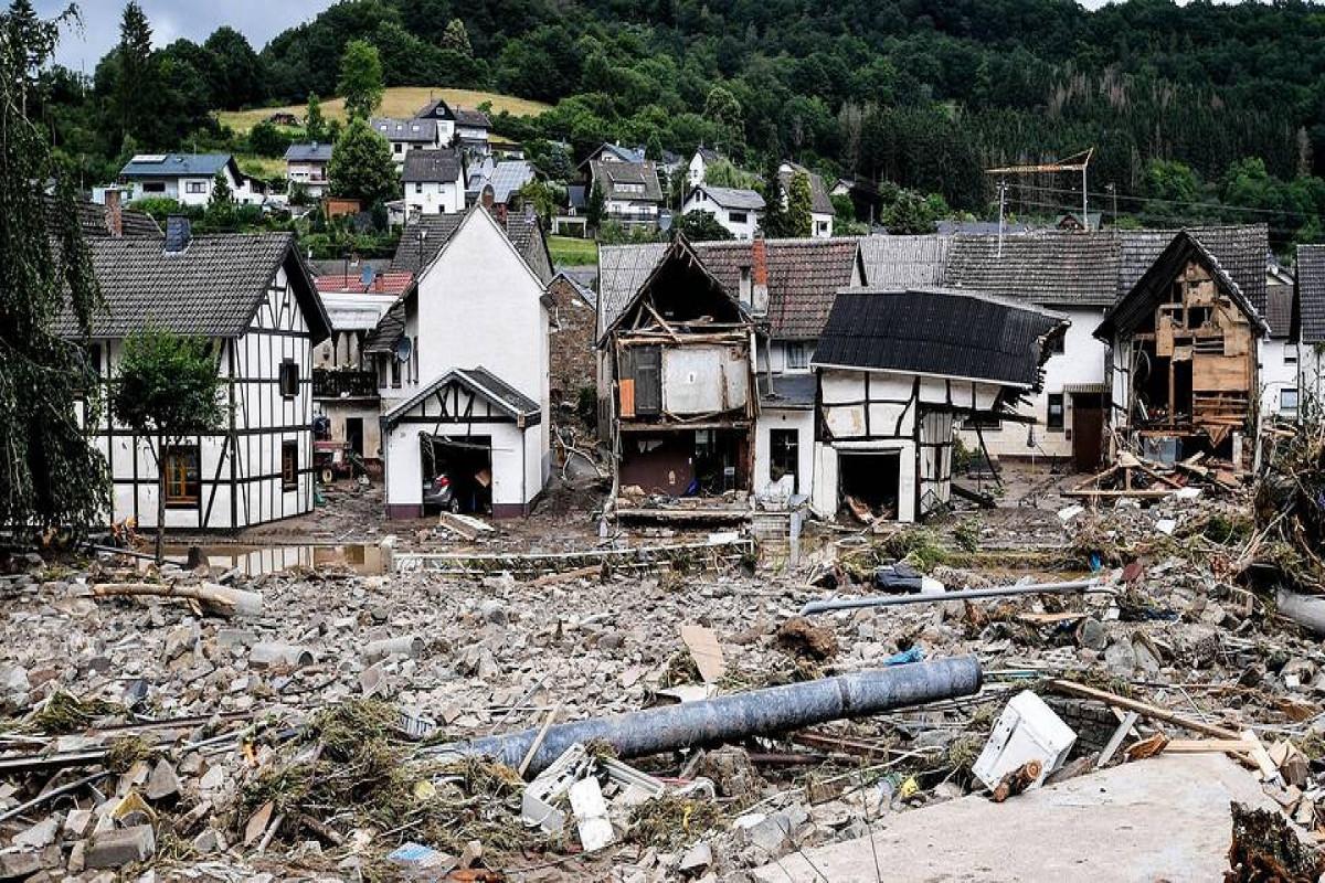 Число жертв наводнения в Германии возросло до 169