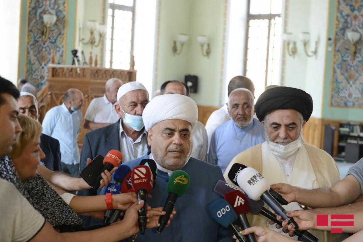 Аллахшукюр Пашазаде: Победой мы возродили нашу духовность