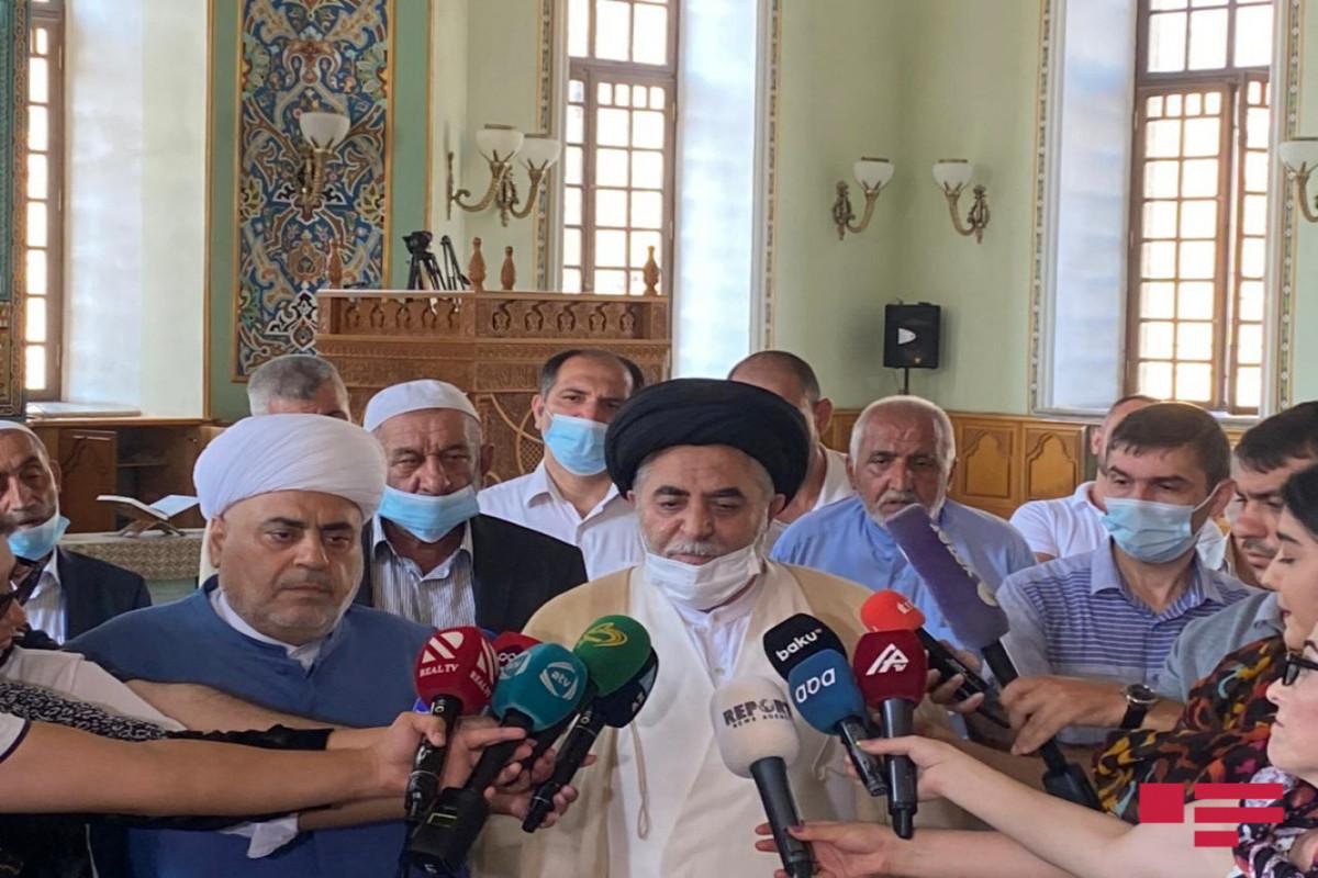 Представитель Хаменеи: Совершить намаз в Шуше было моей мечтой