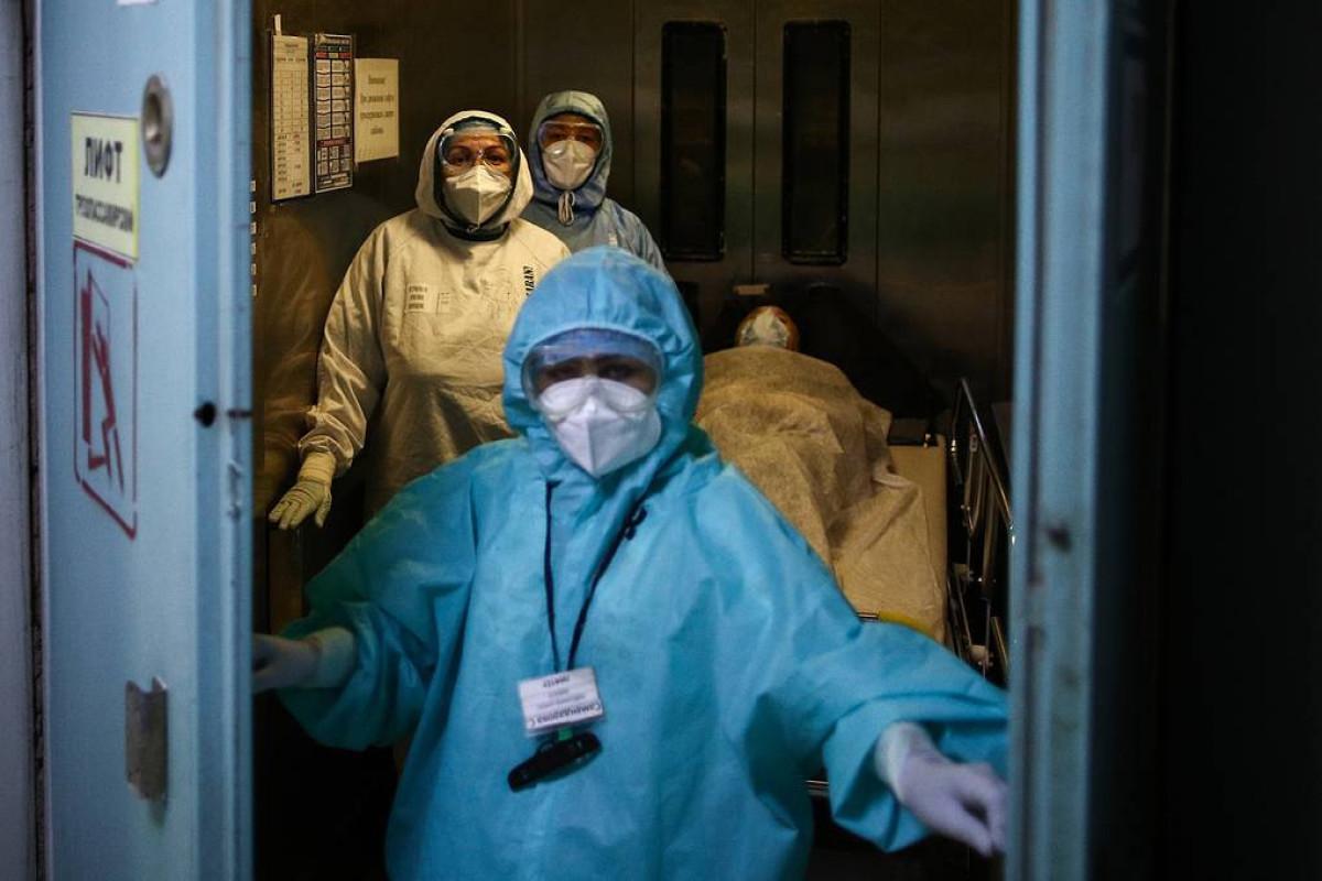 Rusiyada son sutkada 23 704 nəfər COVID-19-a yoluxub, 783 nəfər ölüb