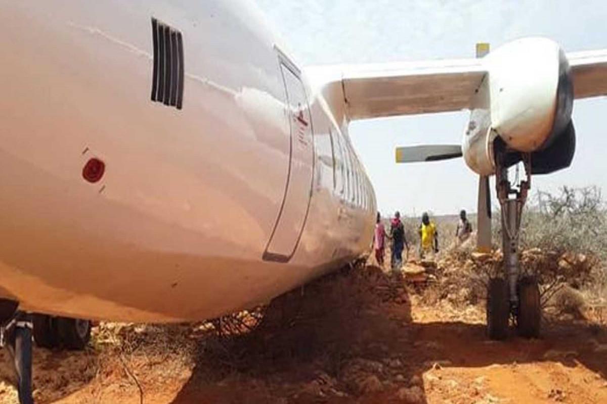 Passenger plane with 45 passengers on board from Nairobi crash lands in Somalia