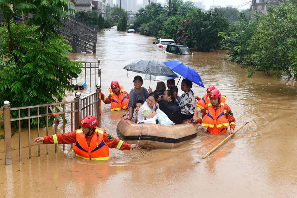 Число жертв наводнения в Китае выросло до 25 человек