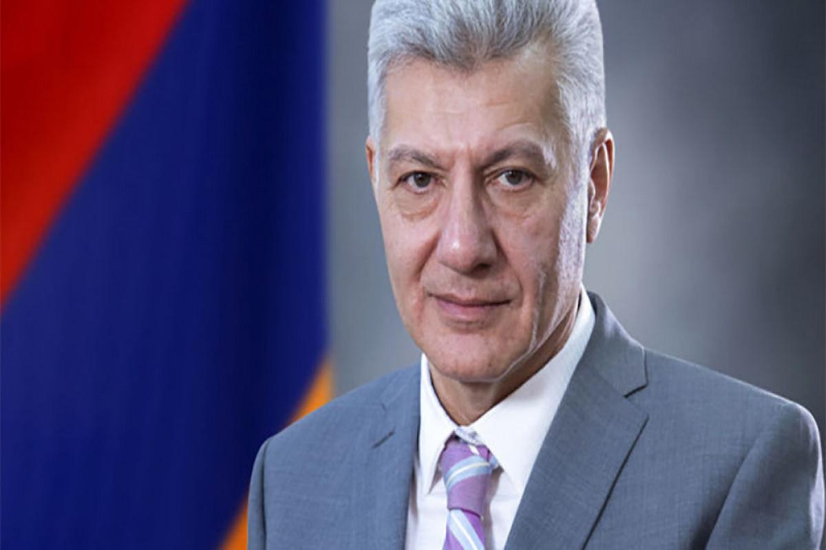 Ermənistan müdafiə nazirinin müavini vəzifəsindən azad edilib