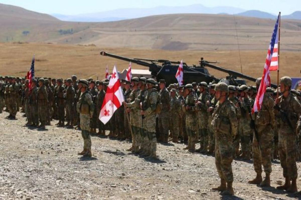 Ermənistan hərbçiləri Gürcüstanda NATO-nun təliminə qatılmayacaq
