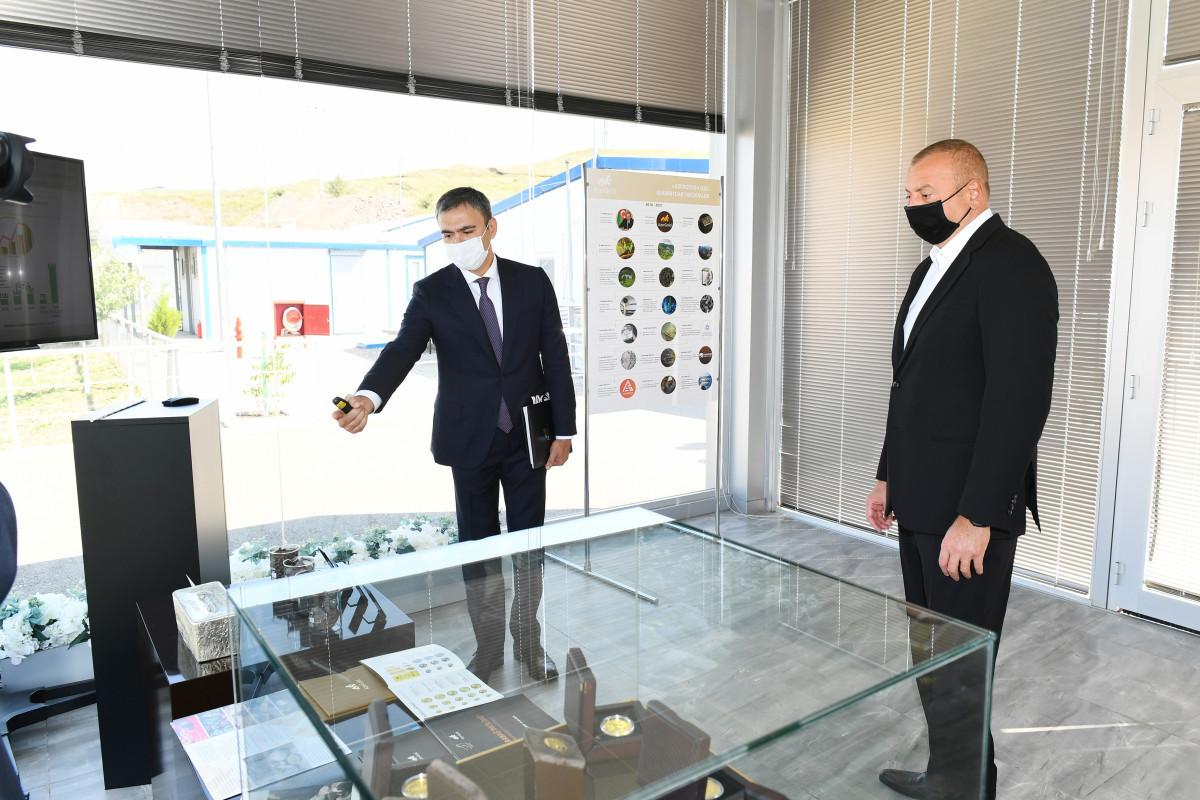 Президент Ильхам Алиев ознакомился с работой Интегрированногорегиональногоперерабатывающегоучастка «Човдар»-ФОТО -ОБНОВЛЕНО