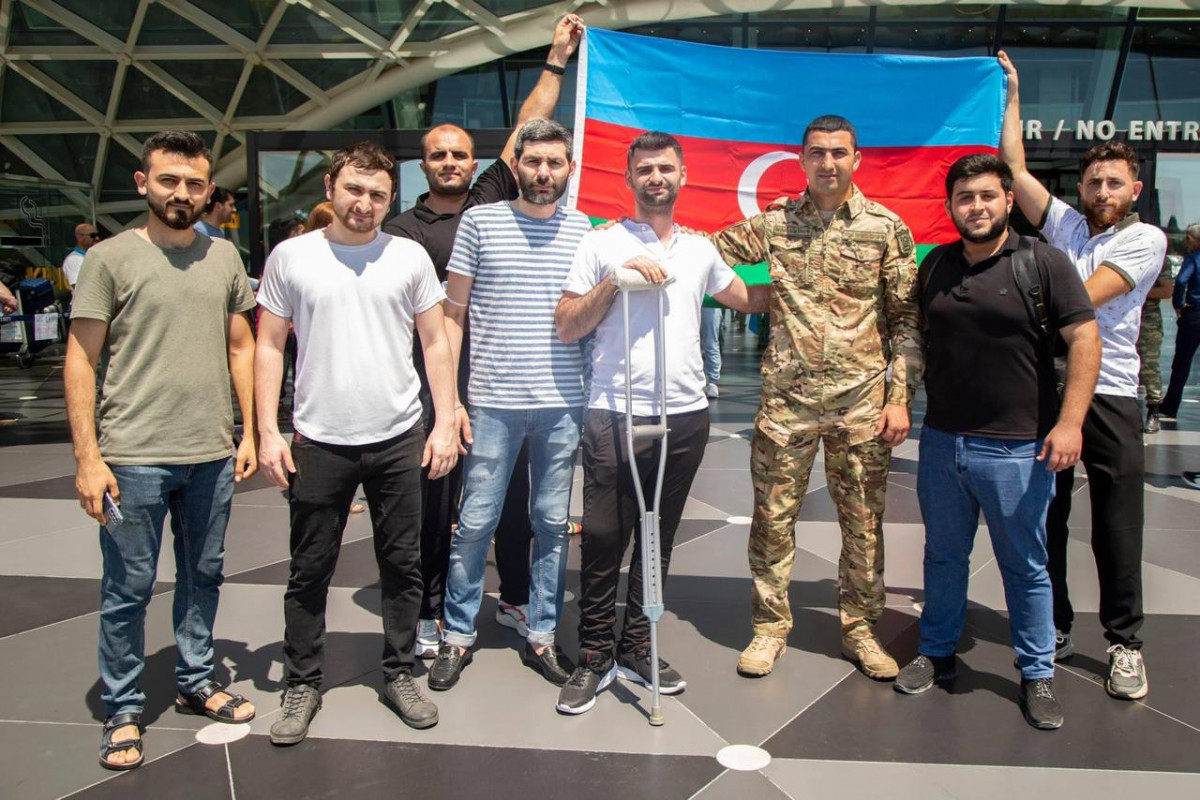 Six more veterans sent to Turkey recovered and returned motherland