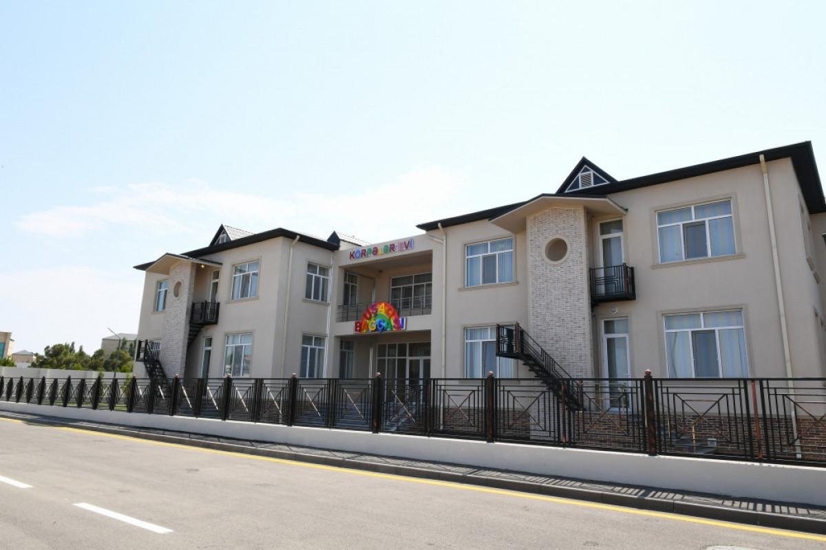 В Нафталане открылся детский сад-ясли на 200 мест