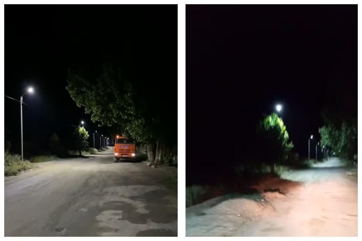 Началась подача электроэнергии в Кяльбаджар-ВИДЕО