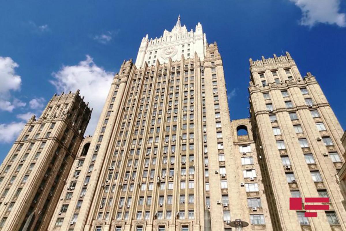 Russian MFA: Incidents on Armenia-Azerbaijan border should be resolved through political and diplomatic ways