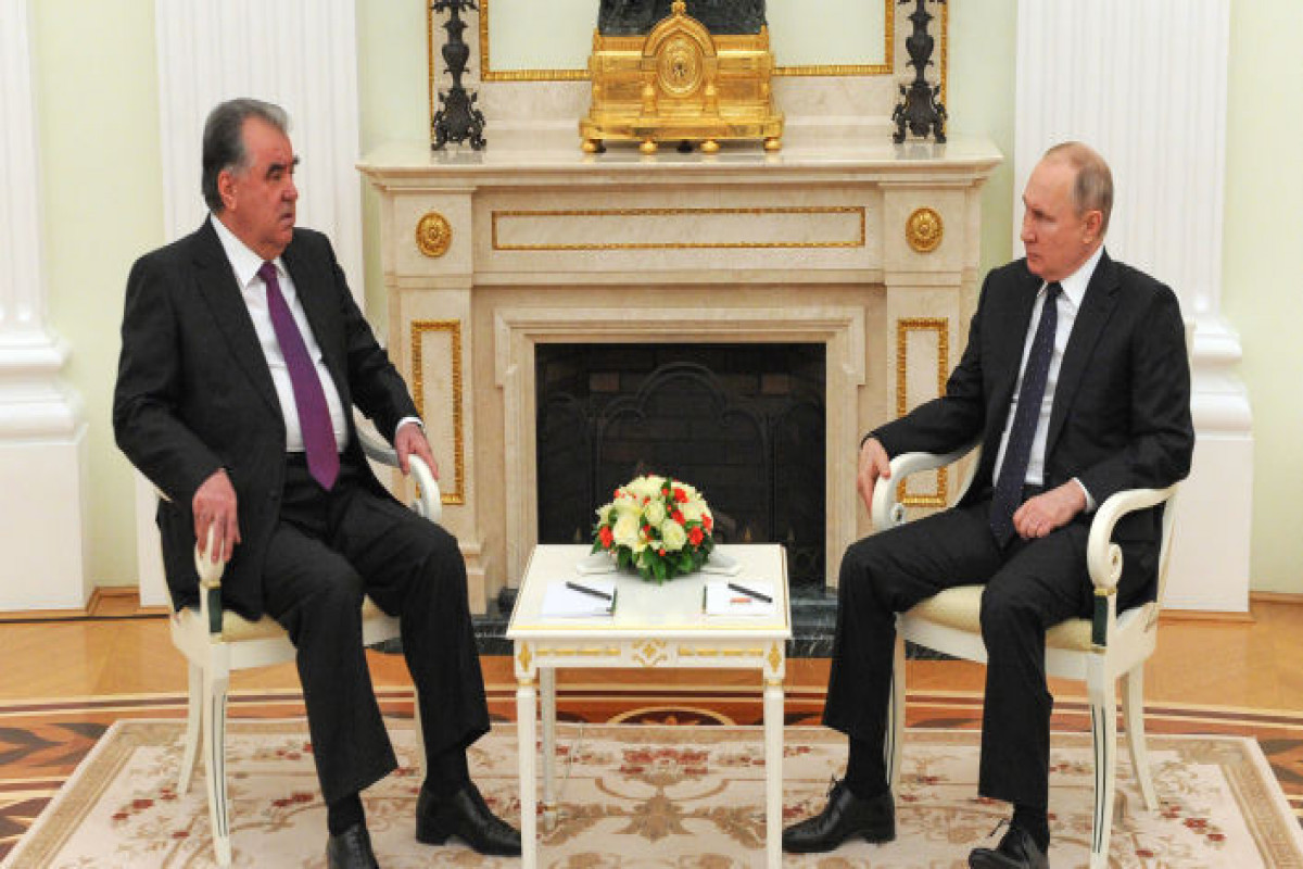 Putin discusses situation in Afghanistan with Tajikistan's president