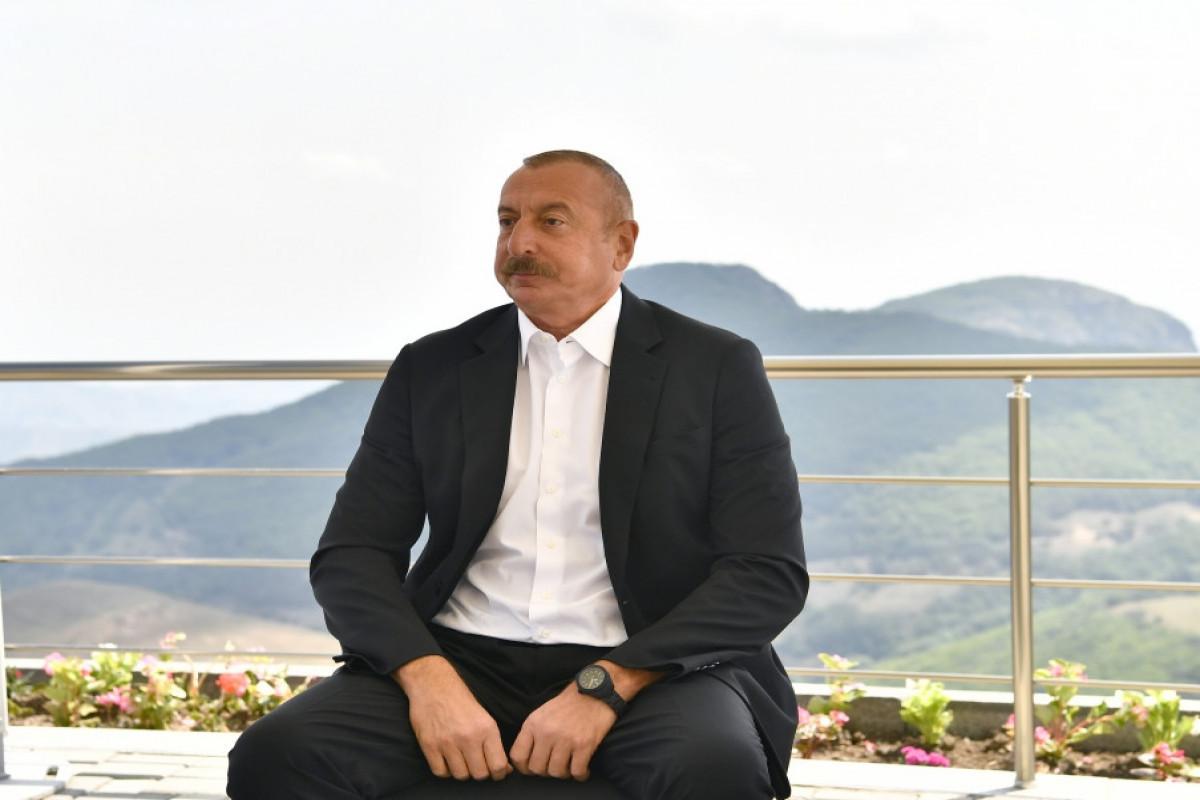 Ильхам Алиев: Азербайджан является наиболее пострадавшей от войны страной,  при этом деньги предоставляют Армении
