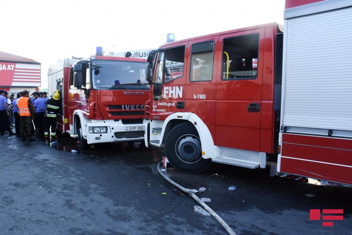 FHN: Ötən sutka baş verən yanğınlar zamanı 40 nəfər təxliyə olunub