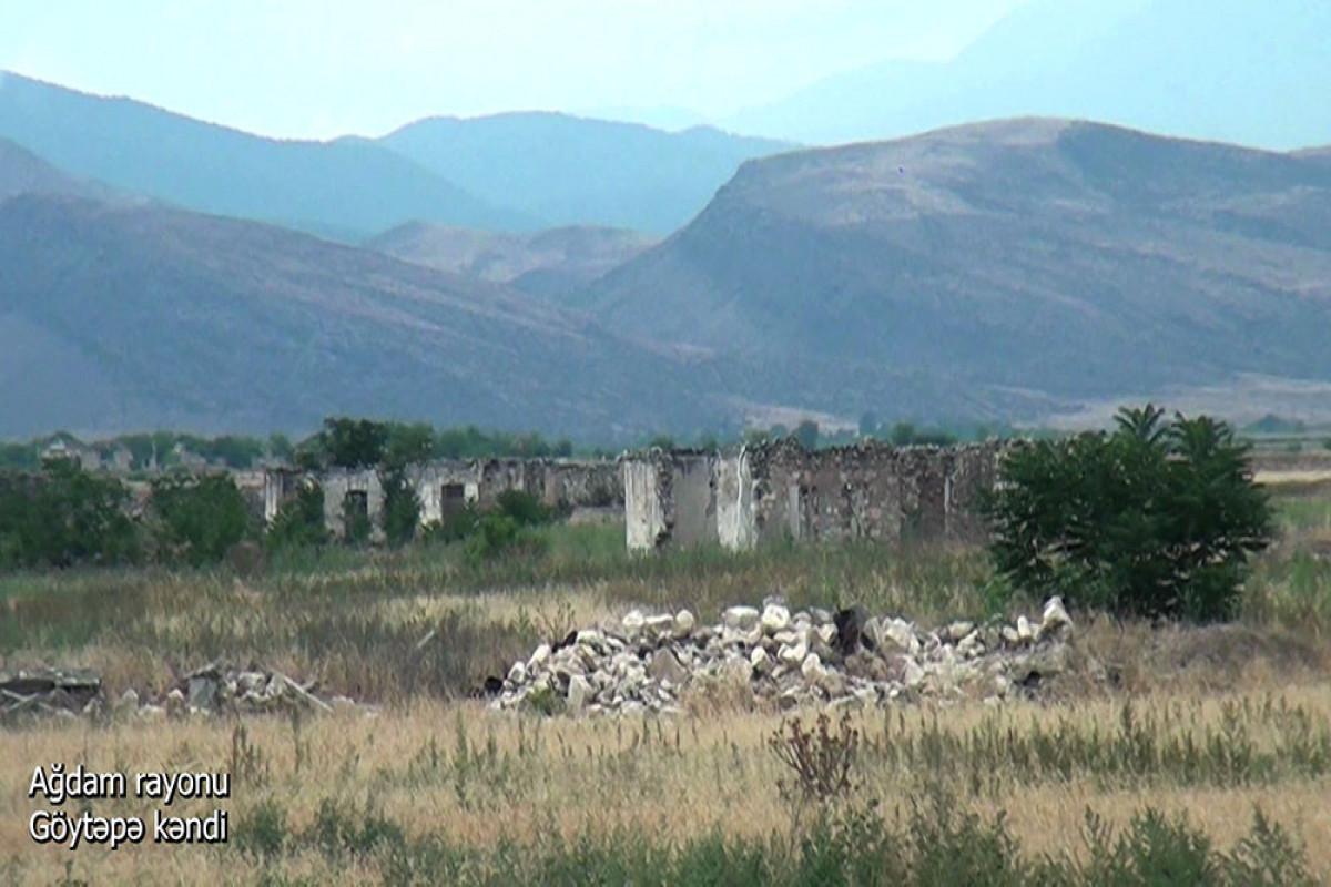 Село Гёйтепе Агдамского района - ВИДЕО