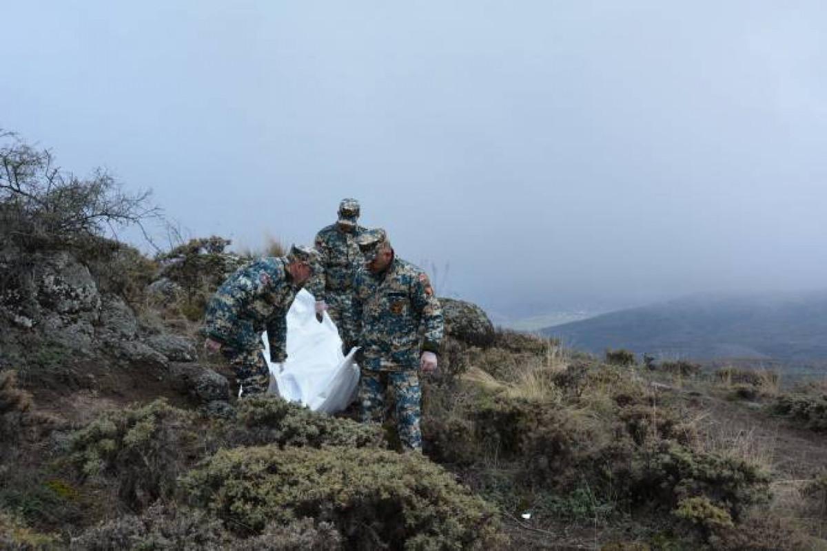 Remains of 4 more Armenian servicemen found in Fuzuli