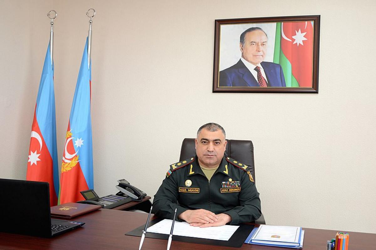 Аяз Гасанов освобожден от должности замначальника Генштаба азербайджанской армии