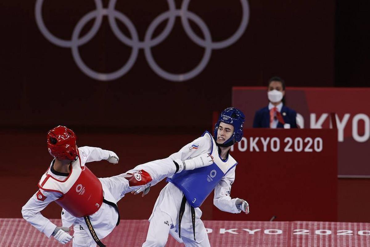 Russia's taekwondo athlete Artamonov takes bronze at Tokyo Olympics