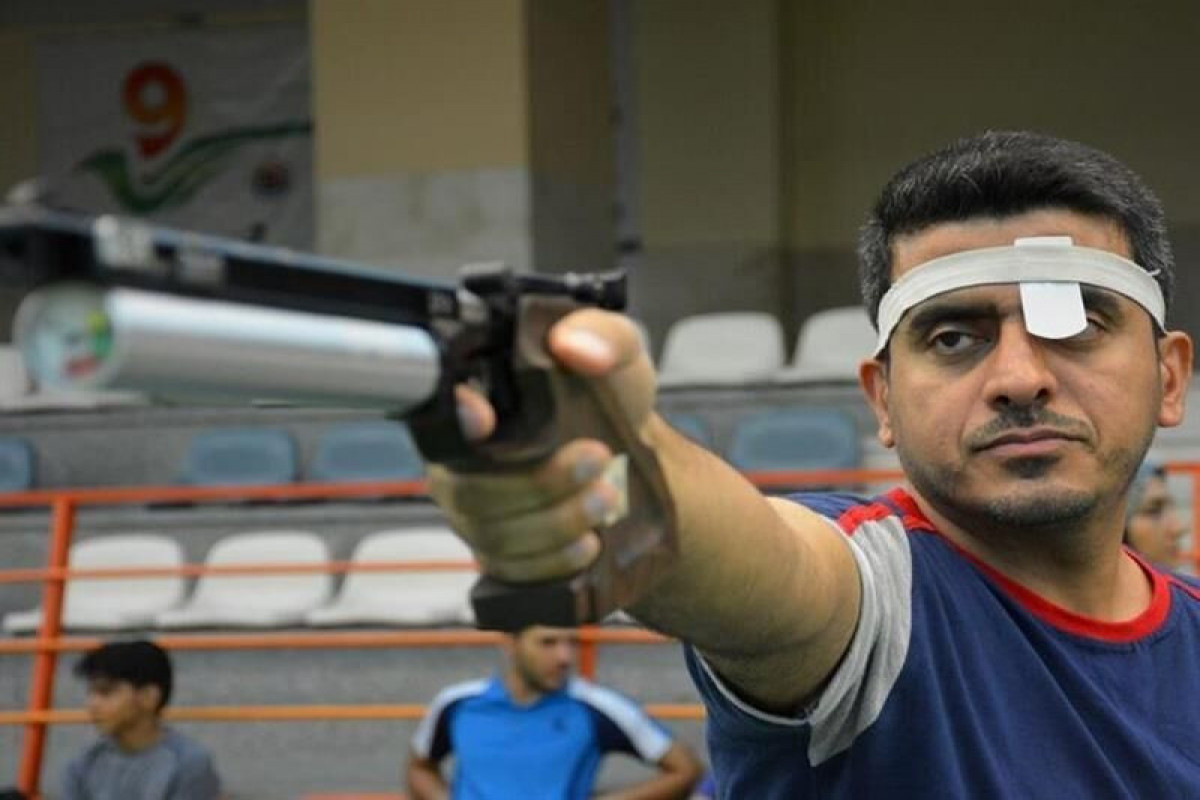 Iran wins its first Tokyo Olympics gold in shooting